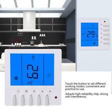 LCD Digital Thermostat Raumthermostat Wandheizung NTC-Thermistor AC 220V