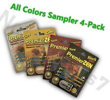 PremierZEN Premier ZEN - Sampler Pack - 4 Colors - Try One of Each - AUTHENTIC