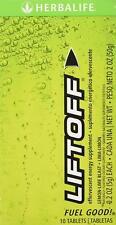 Herbalife Liftoff - Lemon-Lime Blast Box of 10 Tablets