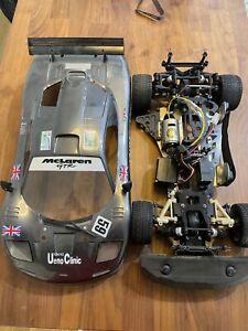 kyosho superten EP Conversion (McLaren body, with GP Parts)