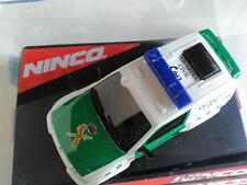 NINCO MITSUBISHI PAJERO POLICE GARDIA CIVIL ESPAGNE.1/32.SLOT CAR 50519