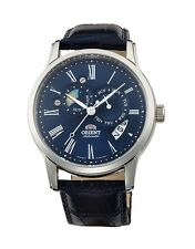 Orient Watch Blue Sun and Moon Version 2 FET0T004D ET0T004D   Sapphire Crystal
