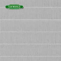 BNIB N GAUGE VOLLMER 47348 CORRUGATED ROOFING PLASTIC SHEET 149mm X 109mm
