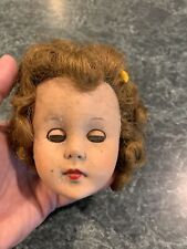 Vintage Creepy Baby Doll Head Scary Baby Goth Horror Halloween