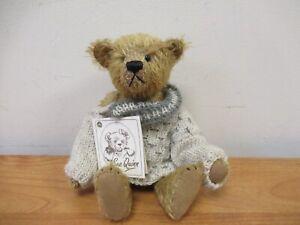 Doormouse Designs Mohair Artist Teddy Bear 'Mr Twig' OOAK 1/1 by Sue Quinn