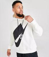 Nike Sportswear NSW NSP Pullover Loose-Fit Hoodie White/Black Size XL CJ5048-133