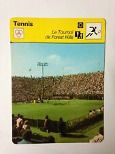 CARTE EDITIONS RENCONTRE 1977 / TENNIS - LE TOURNOI DE FOREST HILLS