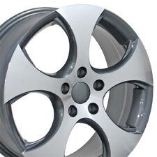 "NPP Fit 17"" Wheels Volkswagen GTI EOS Passat CC Jetta VW Gunmetal Machd"