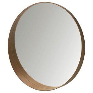 NEW STOCKHOLM Mirror - walnut veneer 23 5/8
