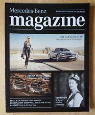 MERCEDES BENZ MAGAZINE Edition 1 2012 UK Mkt sales brochure