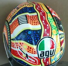 AGV GP-Tech DreamTime Rossi motorcycle helmet FREE SHIP Australia Option ML