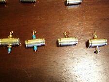 Unique Bullet casing pendant with Swarovski crystal stones