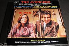 THE AVENGERS cd CAPTAIN KRONOS vampire huntr HEDDA dr strangelove LAURIE JOHNSON