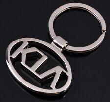 LG11 Car Logo Titanium Keyring Keychain Key Chain Ring Metal Keyring For KIA