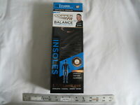 (1) Pair NEW Copper Fit Balance Performance Orthotic Insoles X-LARGE XL Unisex