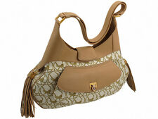 Chopard Madrid Beige / Camel Colored Calfskin Leather Bag Retail: $2,100