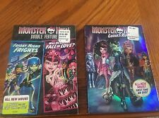 Monster High DVD's 3 Movies-ghouls Rule,Friday Night Frights,why Do Ghouls fall