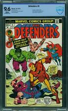DEFENDERS 9 CBCS 9.6 CGC 1 COMIC XMEN IRONMAN AMAZING SPIDERMAN HULK THOR
