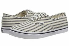 New Vans Mens 3.5 Womens 5 Authentic Lo Pro Engineered Stripes Navy White Shoes