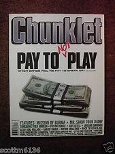 CHUNKLET #17 punk fanzine- Patton Oswald*MISSION OF BURMA*Dave Attell*MR. SHOW +