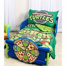 New Teenage Mutant Ninja Turtles 3 Piece Toddler Bedding Set