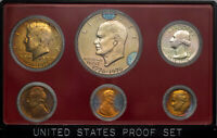 1975-S UNITED STATES MINT 6 COIN PROOF SET BU BEAUTIFUL TONED COLOR UNC (MR)