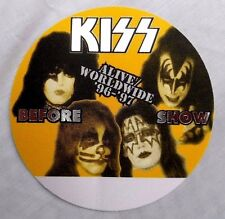 Kiss Reunion Tour  Alive World Wide 1991 /1997  Before Show Pass 9/22/96 Orlando