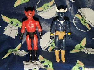 Vintage Dragonriders of the Styx Figures