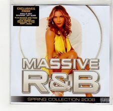 (GE828) Massive R&B Spring Collection sampler - 2008 DJ CD