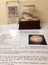 JSA Hank Aaron Autographed RO-N Baseball & 1975 Hostess Twinkie #130 Card