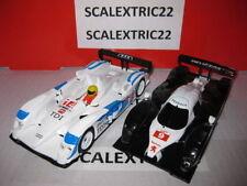 Peugeot 908 HDI FAP Le Mans y Audi R10 TDI Le Mans SCX 1:32 gt racing