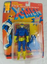 MARVEL TOYBIZ X-MEN CYCLOPS WITH LASER LIGHT EYES VARIANT ACTION FIGURE 1993