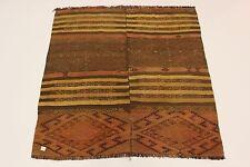 S.Ancien Nomades Kelim Sumac Tapis Persan tapis Tapis d'orient 1,64 X 1,54