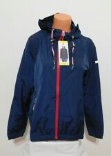 Tommy Hilfiger Womens Windbreaker Jacket Size SMALL Blue...
