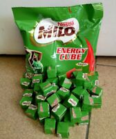 Milo Cube Nestle Genuine Crunchy Energy Snack 100 Cube Halal