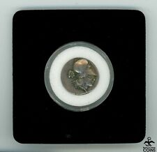 350-330 B.C. Ancient Greek Akarnania, Leukas Silver Drachm Coin w/box