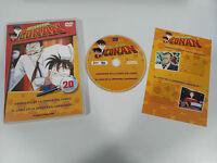DETECTIVE CONAN DVD SERIE TV VOLUMEN 20 - 2 CAPIT CASTELLANO JAPONES JONU MEDIA