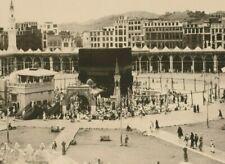 SAUDI ARABIA V.Rare old Original Photo Showing Holy Kaaba 50th Size 24X18.50
