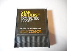 Atari computer Cartridge - Star Raiders for 400/800/XL/XE - WORKS