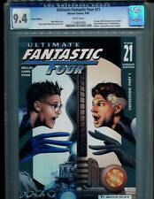 ULTIMATE FANTASTIC FOUR 21 CGC 9.4 W PGS VARIANT COVER V1! 1ST MARVEL ZOMBIES!1!