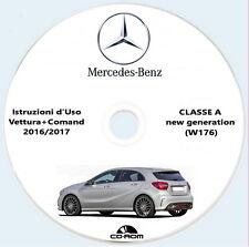Mercedes-Benz Classe A (W176),new generation,Istruzioni d'Uso vettura+Comand
