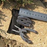 Mini Multitool Geocaching Schlüsselbund Messer Ausrüstung Survival Zange