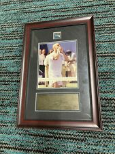 Andre Agassi US Open 2006 Framed Sports Memorbilia numbered 51/80