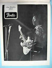 FENDER 1960's ALBUM OF STARS PROMO BOOK GUITAR & AMP PHOTOS HENDRIX & OTHERS