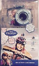 Disney Frozen HD Action Camcorder 720P Waterproof Bicycle & Helmet Mounts Incl