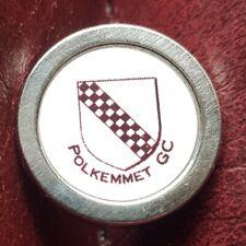 New listing Polkemmet Golf Club Ball Marker