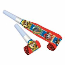 8 x Paw Patrol Birthday Party Blowouts Ideal Favor Loot Bag Filler