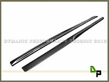 Carbon Fiber PSM Style Side Skirts Lip For 15-17 M-Benz W205 C43 AMG & C63 AMG