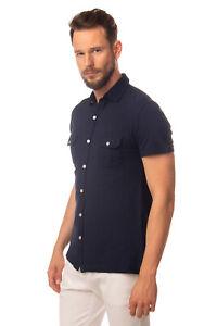 LIU JO UOMO Shirt Size 40 / 15 3/4 / M Split Hem Regular Collar Slim Fit LANDMC
