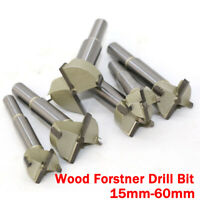 15-60mm Wood Forstner Woodworking Boring Wood Hole Saw Cutter Drill Bit Tool New